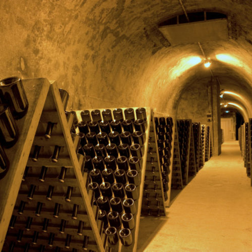 Riddling in Champagne