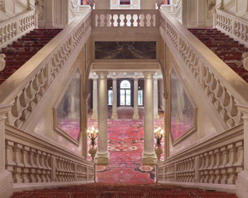 Rudolf Stingel at Palazzo Grassi Venice Italy 2013 yatzer 3