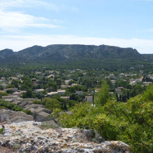 landscape view provence