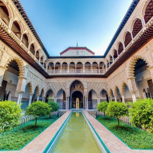 Le Patio de las Doncellas dans le Real Alcázar de Séville Sevilla Ciudad