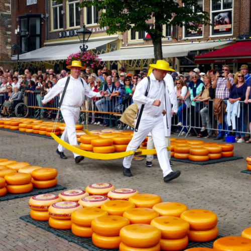 cheese market the netherlands